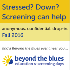 Beyond the Blues screening events - Fall 2016