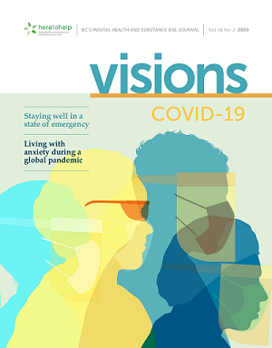 image of a cover of Visions Journal
