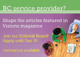 Visions Editorial Board - Apply today